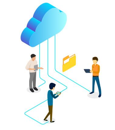 Piattaforma collaborativa cloud aziende